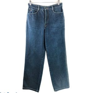 Vintage Pierre Cardin High Rise Straight Jeans 27